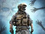 Zombie Combat Target Shooting Simulator 3D